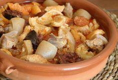 Tapas, Healthy Recipes, Healthy Food, Cauliflower, Chicken, Meat, Vegetables, Madrid, Bean Stew