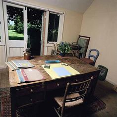 Virginia Woolf's writing room at Monk's House.