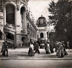 """ladylabsinthe: """" Paris, le Champ de Mars durant l'Exposition universelle de 1900 """""""