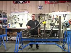 Texas Bike Works Shows You How they Build a Frame