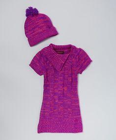 Little Lass Gray Duffel Sweater Set - Infant & Toddler | zulily ...