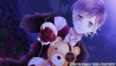 Sakamaki Kanato (逆巻 カナト) CV: Kaji Yuuki (梶 裕貴) Kanato is one of the triplets of the Sakamaki family. He's special… in that he has a teddy bear who he talks to and treats as if it were a… Ruki Mukami, Kanato Sakamaki, Cute Anime Boy, Anime Guys, Diabolik Lovers Ayato, Blood Anime, Yaoi Hard, Lovers Photos, Manga Books