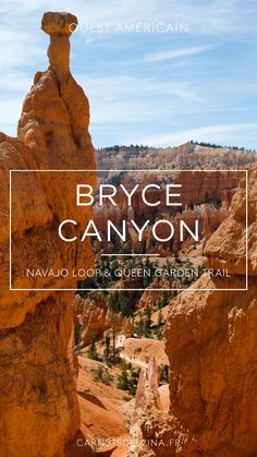 Guide des parcs de l'Utah, de Zion Park à Bryce Canyon - Etats-Unis Bryce Canyon, Road Trip Usa, Navajo, Utah, Zion Park, Loop, Paradis, Blog Voyage, Us National Parks
