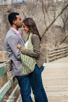 Engagement session at Stone Arch Bridge