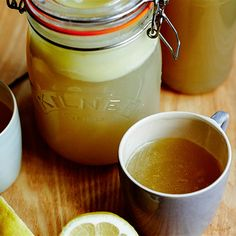 Try this Bone Broth recipe by Chef Jasmine and Melissa Hemsley . This recipe is from the show Hemsley + Hemsley - Healthy