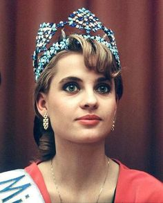 Aneta Kreglicka was Miss World in 1989 representing Poland
