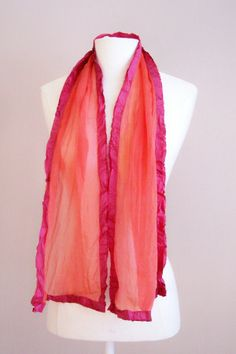 Red Chair Studio hand-dyed scarves for bridesmaids… or for mother of the brides! Not me… but I think they're gorgeous.