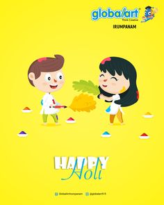 May God gift you all the colors of life, colors of joy, colors of happiness, colors of friendship, colors of love and all other colors you want to paint in your life. Happy Holi, Kochi, Global Art, Color Of Life, All The Colors, Imagination, Friendship, Creativity, Happiness