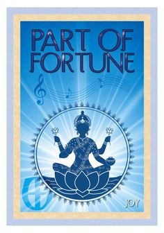 Part of Fortune - a harmonic point of happiness found in your chart