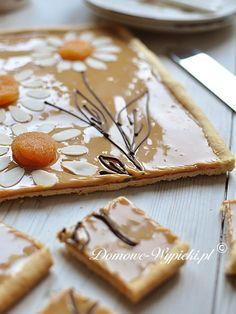 mazurek kajmakowy Cookie Desserts, No Bake Desserts, Delicious Desserts, Yummy Food, Easter Recipes, Holiday Recipes, Cheesecake Pops, Cake Recipes, Dessert Recipes