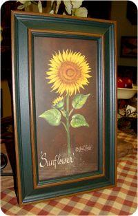 I just love sunflowers♥