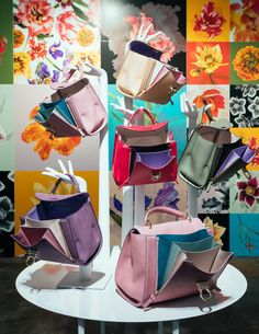 Ferragamo's Pre-Spring 2018 Bags Are a Mix of Fun Florals and Colorful Combos - PurseBlog