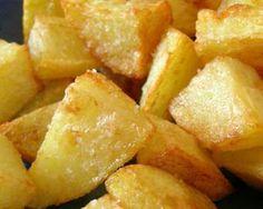 Patatas asadas con alioli. #patatas #guarnición