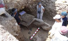 #Archaeologists find Magnificent Statues of Pharaoh #Amenhotep III and His Protector, the Lioness #Goddess of War