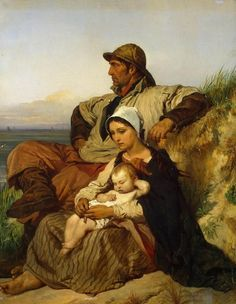 Louis Gallait (1810 – 1887, Belgian)