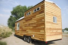 I'm excited to show you thisspacious tiny house on wheels by Tiny Idahomes. Tiny Idahomes LLC is a tiny house builder in Nampa, Idaho. They build custom tiny homes for their clients and so f…