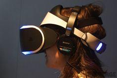 Sony's Moepheus VR Headset