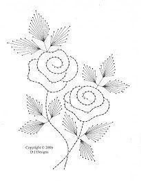 The Latest Trend in Embroidery – Embroidery on Paper - Embroidery Patterns Embroidery Cards, Hand Embroidery Designs, Embroidery Stitches, Embroidery Patterns, Rose Embroidery, Card Patterns, Stitch Patterns, String Art Diy, Art Carte