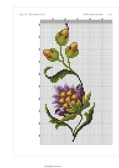Funny Cross Stitch Patterns, Cross Stitch Designs, Crewel Embroidery, Embroidery Patterns, Cross Stitch Landscape, Flower Pillow, Modern Cross Stitch, Bargello, Cross Stitching