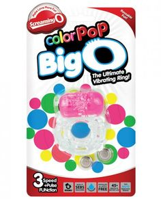 The Big O is the perfect couples sex toy for first time users or anyone curious to try their very first cock ring, it is easy to use, fun to try, and packs enough power to help couples come together! This powerful vibrating cock ring helps prevent premature ejaculation and promote stronger erections by restricting blood flow to the penis while its vibrating motor provides clitoral stimulation that helps get her closer to orgasm with every stroke! Simply stretch the ring around the base of…
