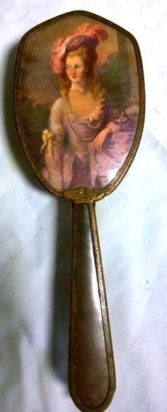 Vanity Hairbrush - Vintage 1940s Gainsborough Ladies Hairbrush