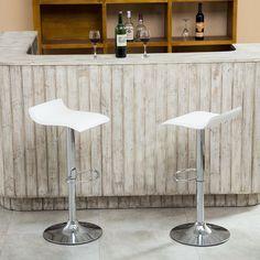Adjustable High Chairs Swivel Stools Bar Seats Air Lift Design Dining Room NEW   eBay