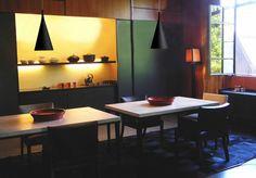 Hanglamp conisch chroom, wit of zwart 430mm hoog E27