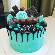 280 Likes, 4 Comments – Thad … - Cupcakes Beautiful Cake Designs, Cool Cake Designs, Beautiful Cakes, Amazing Cakes, Pretty Cakes, Cute Cakes, Yummy Cakes, Creative Cake Decorating, Creative Cakes