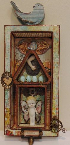 Mixed Media Altered Assemblage
