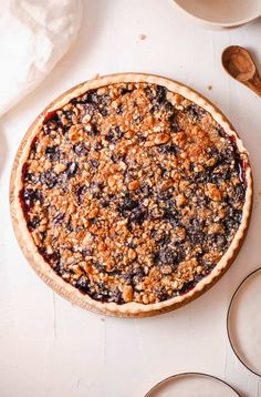 Cherry Crumble Pie (Easy, Kid-Friendly) | The Picky Eater Cherry Crumble, Pie Crumble, Easy Cooking, Cooking Recipes, Rough Puff Pastry, Shortcrust Pastry, Great Desserts, Tart Recipes, Picky Eaters