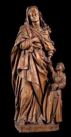 Anna, Statue, Sculptures, Sculpture