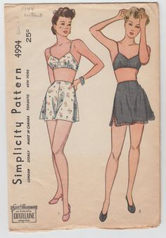 Hey, I found this really awesome Etsy listing at https://www.etsy.com/listing/163303380/vintage-sewing-pattern-ladies-lingerie