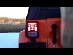 Jeep Tweaks Black Tail Light Guards - CJ, YJ, TJ, LJ
