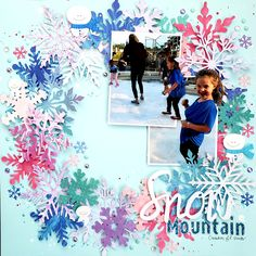 Snow Mountain - Scrapbook.com