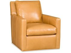 The Jaxon Swivel Tub Chair 8-Way tie is offered in hundreds of leather options and comes standard.