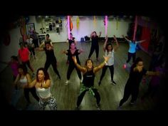 Zumba ® fitness class with Lauren- Dont you need somebody - YouTube
