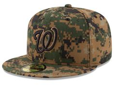 Washington Nationals New Era MLB 2016 Memorial Day 59FIFTY Cap