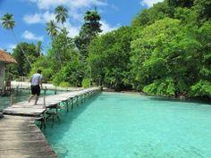Ora beach, Seram island, Maluku, Indonesia