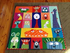 monster quilt - Google Search