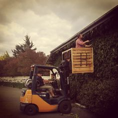 Toyota #forklift ... Number one in ... garden tools?