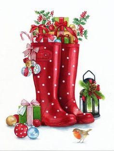 Christmas Scenes, Christmas Deco, Christmas Pictures, Christmas And New Year, Winter Christmas, Handmade Christmas, Christmas Ornaments, Merry Christmas, Christmas Clipart
