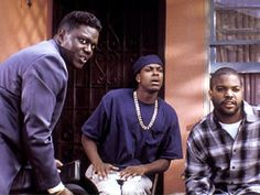 """Bernie Mac, Chris Tucker and Ice Cube in """"Friday"""" Chris Tucker Friday, Movies Showing, Movies And Tv Shows, Friday 1995, Friday Movie Quotes, Bernie Mac, Movies Worth Watching, We Are The World, Janet Jackson"""