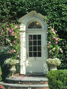 Cute Cottage, Shabby Chic Cottage, Shabby Chic Homes, Tudor Kitchen, Cottage Front Doors, Dutch Colonial, Enchanted Home, Entry Foyer, House Layouts