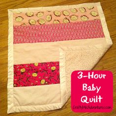 Crafty Home Improvement (Mis)Adventures: 3 Hour Baby Quilt