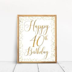 Items similar to Happy Birthday Sign, Cheers to 80 Years, Anniversary Sign, Confetti Gold Birthday Party Decoration, Birthday décor on Etsy 40th Birthday Party Themes, Happy 80th Birthday, Birthday Cheers, Birthday Decorations, Happy 40th, Party Decoration, Etsy, Sign, 70th Anniversary