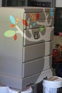 Dresser Revamp - check this out @Jen Lints......things that make you go Hmmmmmmmm.......