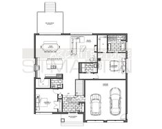 Architecture St-Martin » 14-2707 Dream House Plans, House Floor Plans, Cool Room Designs, Home Design Floor Plans, House Of Beauty, Earthship, Architect House, Home Pictures, First Home