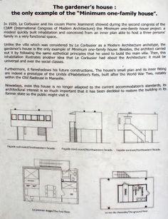 carlitoslunch: Villa Savoye gardener's house - Le Corbusier