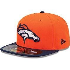 8c7a66269be Men s New Era Denver Broncos Sideline 59FIFTY® Football Structured Fitted  Hat Denver Broncos Team