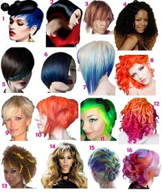 Fun Hair Color and Cuts